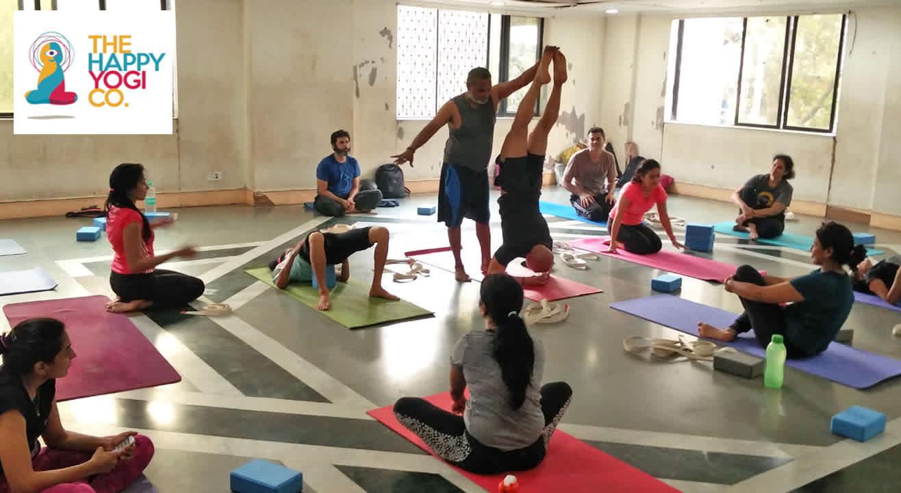 Ashtanga vinayasa yoga master class with Ramesh Shetty