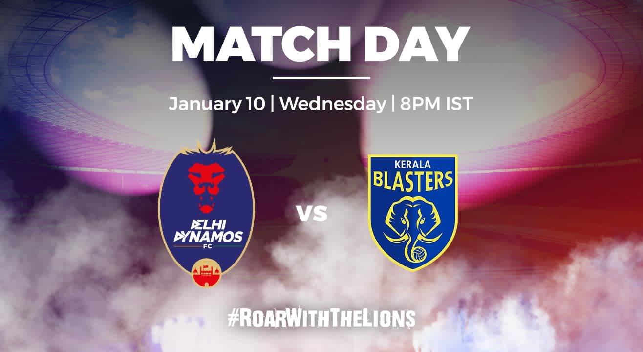 ISL: Delhi Dynamos FC vs Kerala Blasters