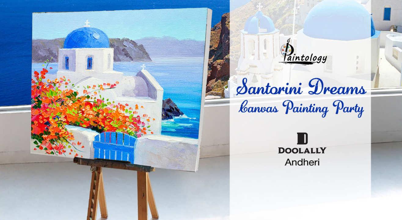 Santorini Dreams - Canvas Painting Party