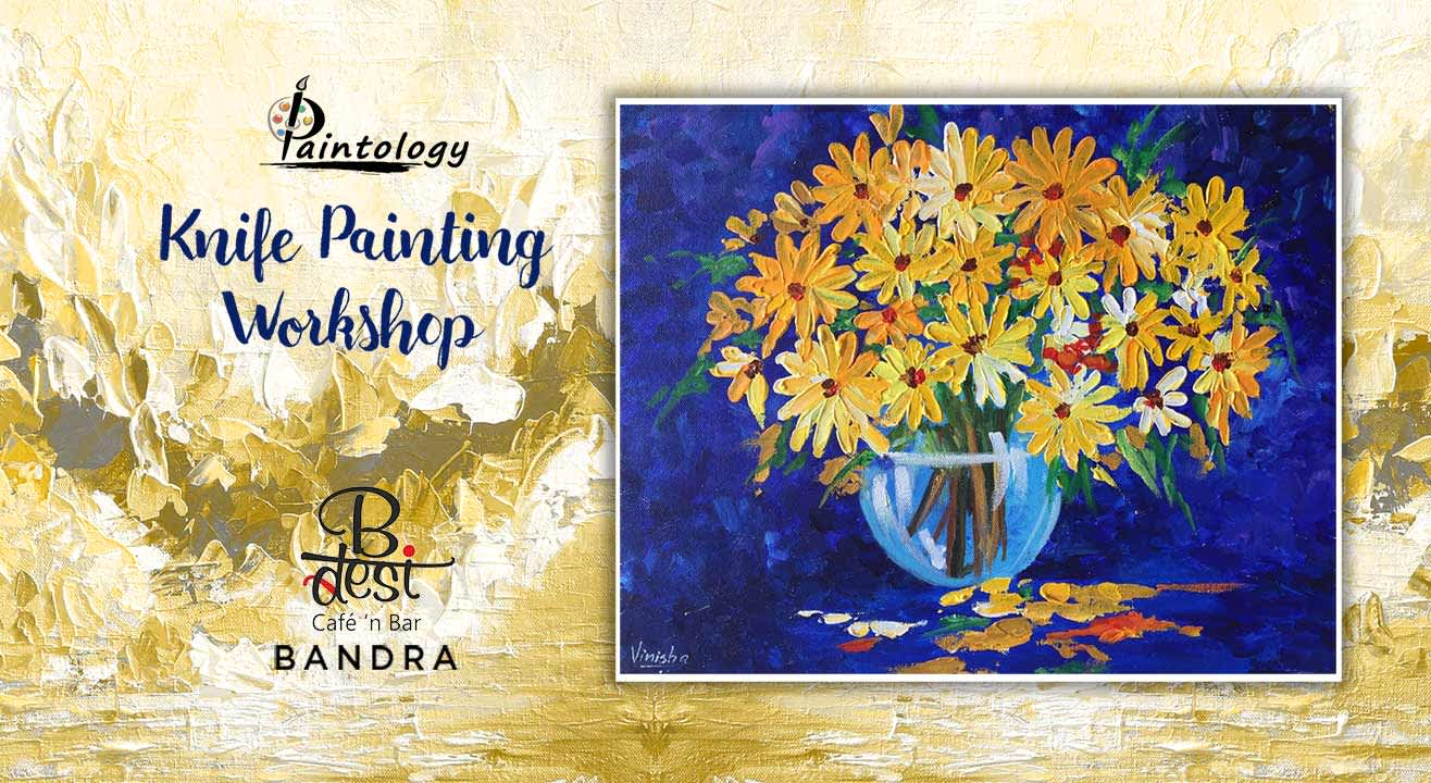 Knife Painting Party - 'Sunflower Blooms'