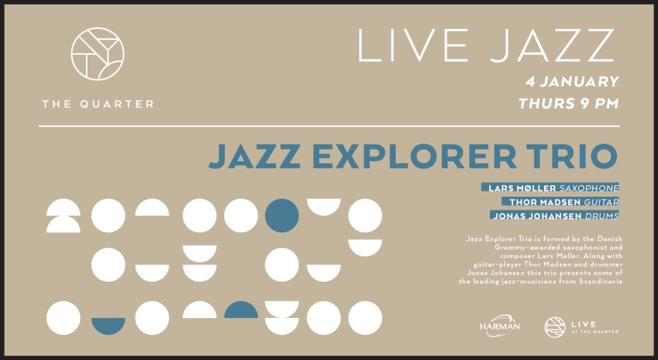 The Jazz Explorer Trio at The Quarter