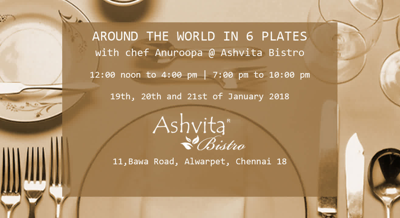 Around The World In 6 Plates