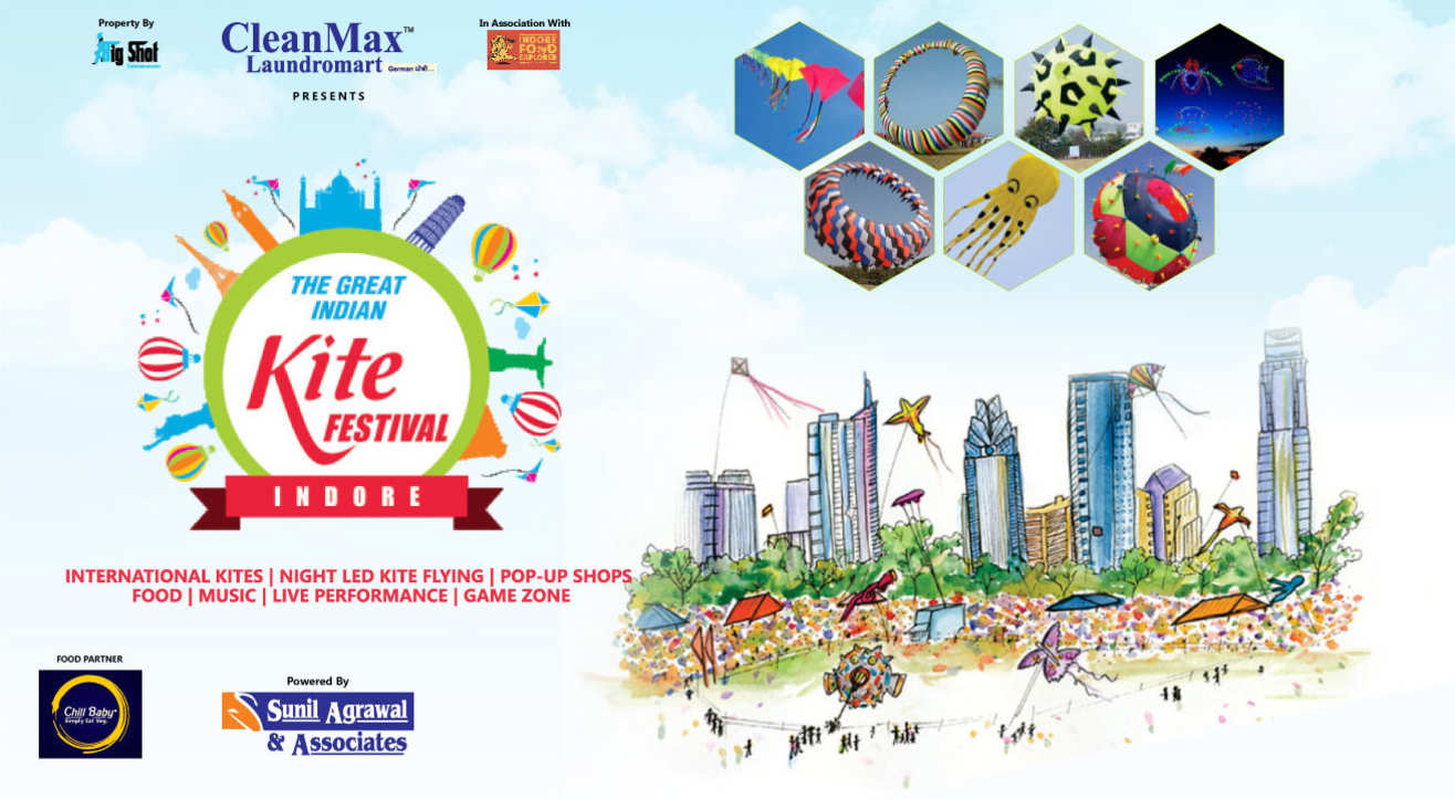The Great Indian Kite Festival