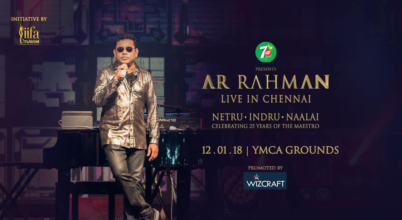 AR Rahman Live in Chennai