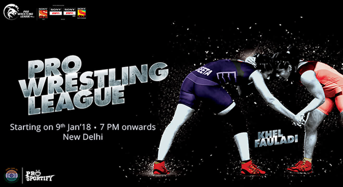 Gear Up For The Pro Wrestling League 2018