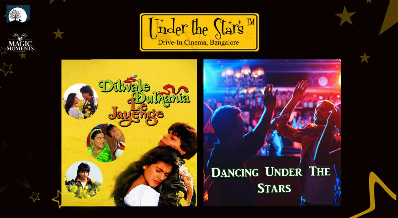 Magic Moments Under The Stars: Screening of DDLJ & Dancing Night Under the Stars