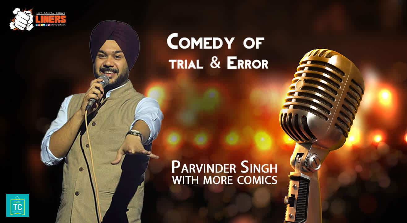 PunchLiners: Comedy Of Trial & Error (Open Mic) in Lucknow