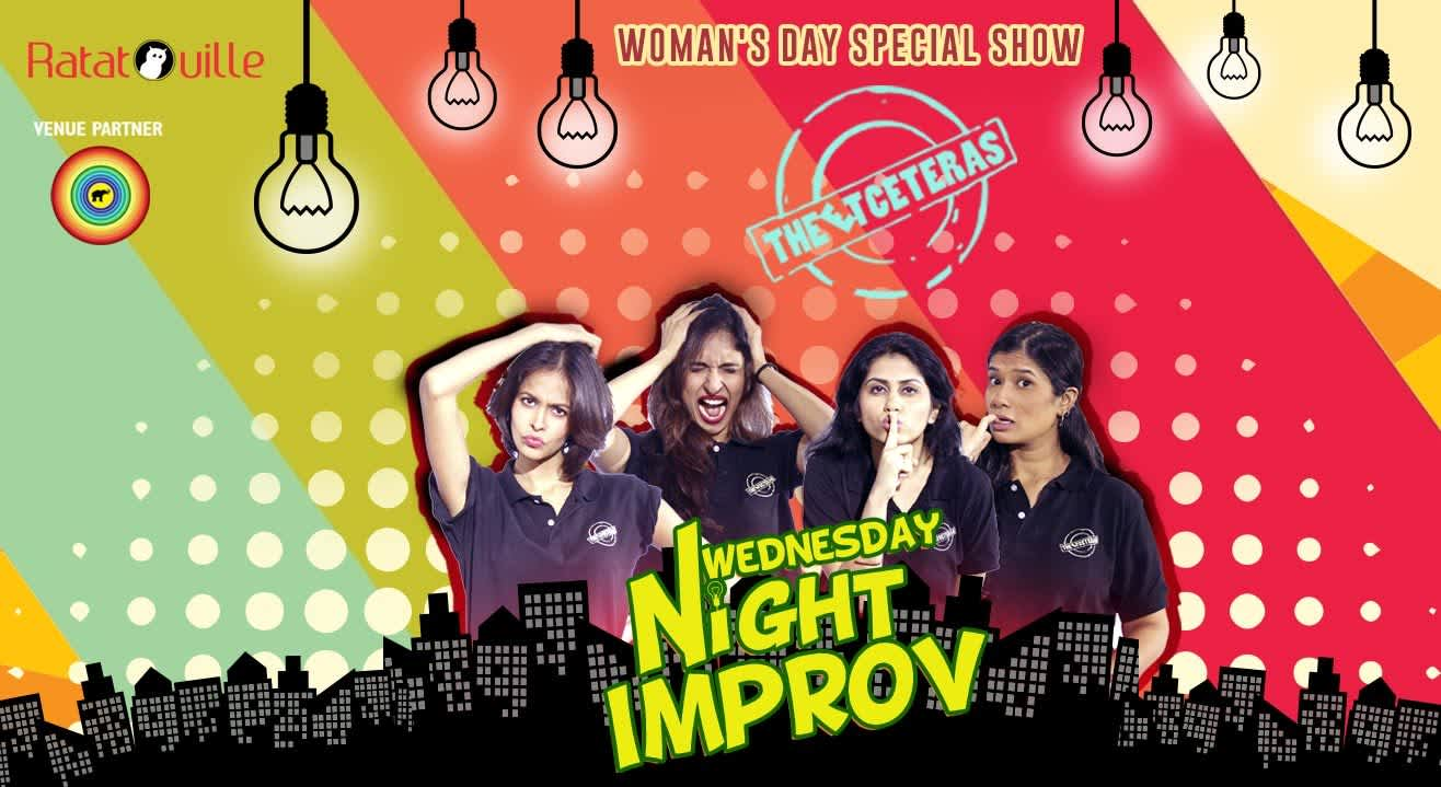 Wednesday Night Improv Comedy Presented by Ratatouille