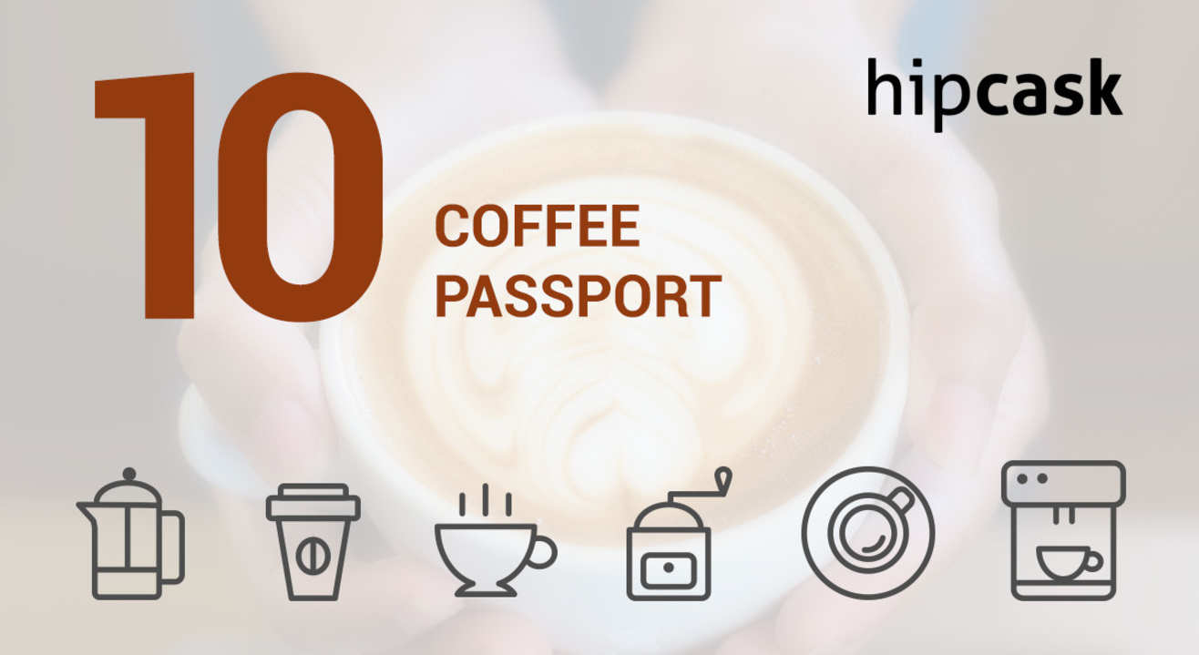 Hipcask Coffee Passport: India's first multi brand coffee card!