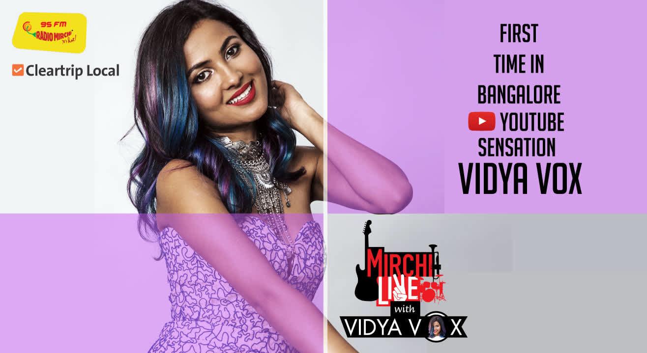 Mirchi Live With Vidya Vox