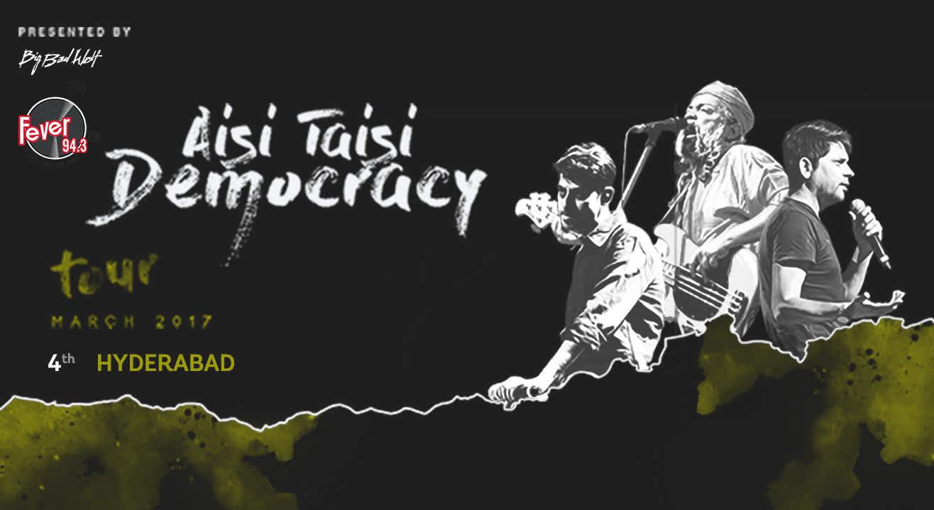 Aisi Taisi Democracy Tour 2017, Hyderabad