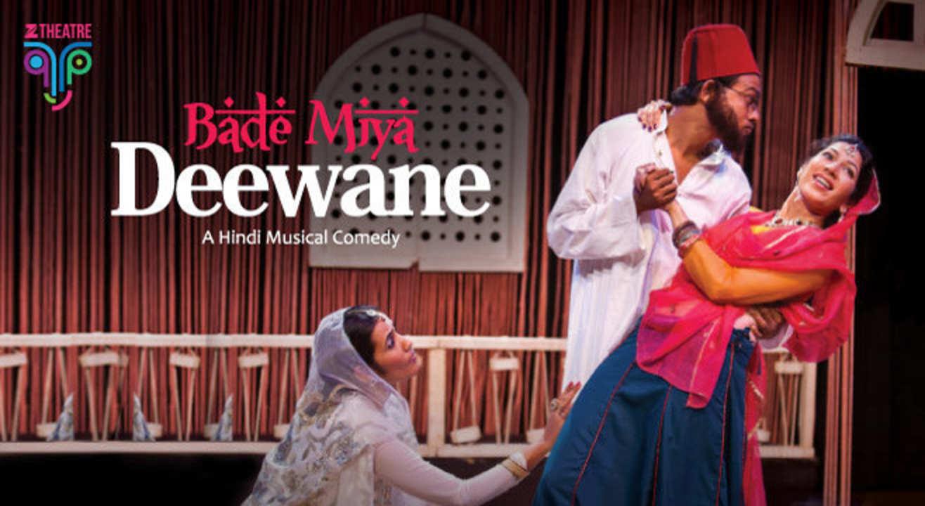 Zee Theatre Presents Bade Miya Deewane, Lucknow