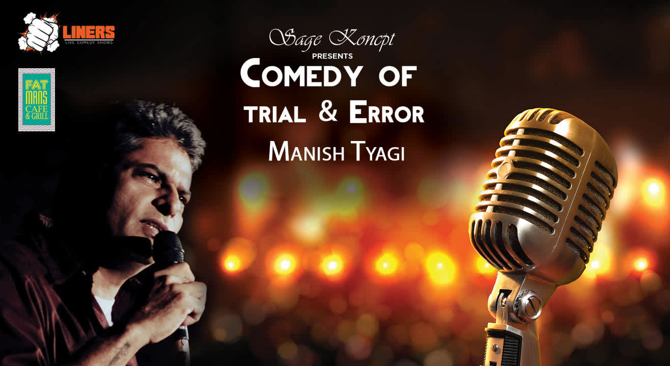 Punchliners: Manish Tyagi at Fatman Cafe, Mumbai