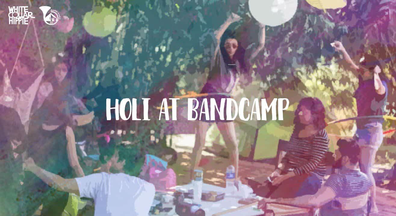 Holi at BandCamp