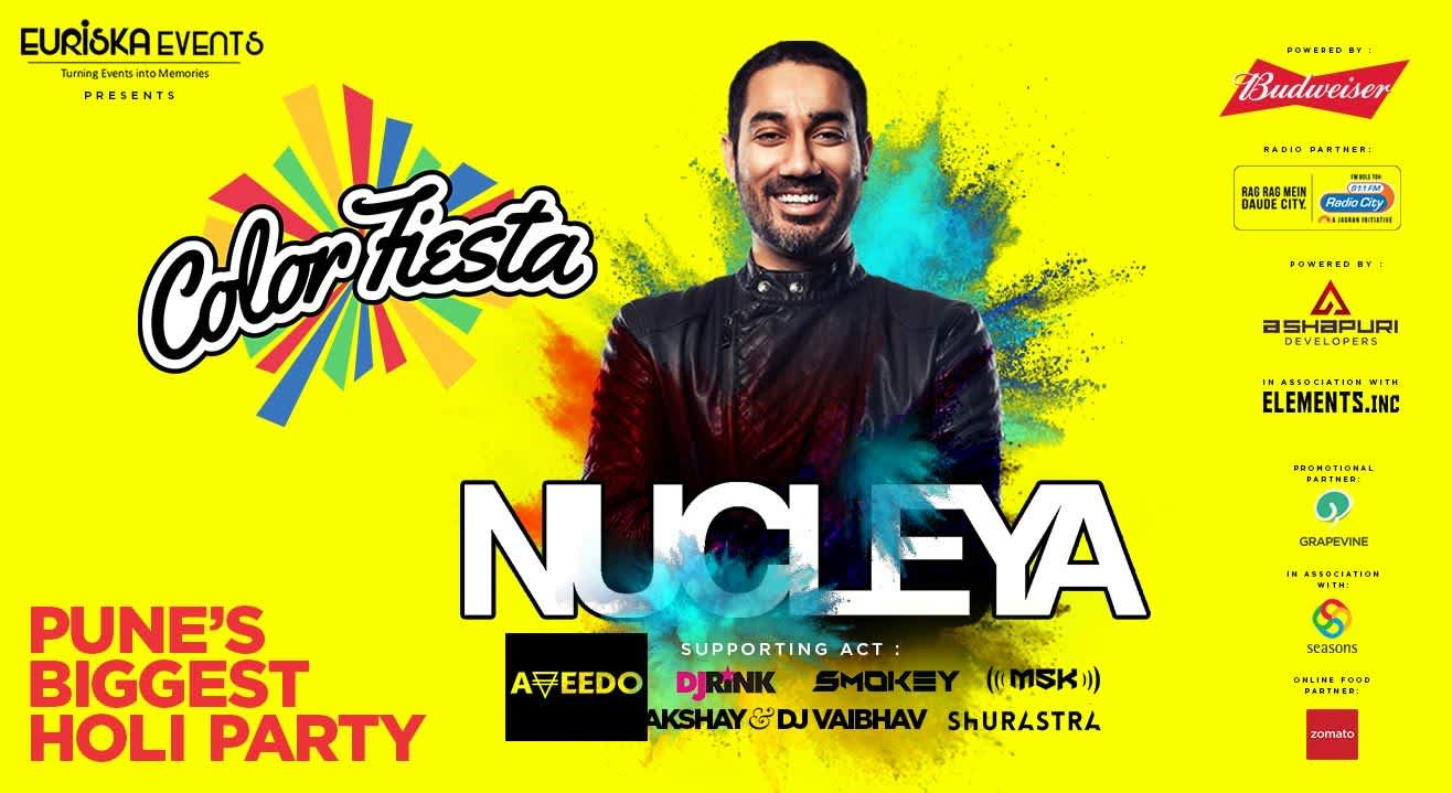 Color Fiesta with Nucleya and more!