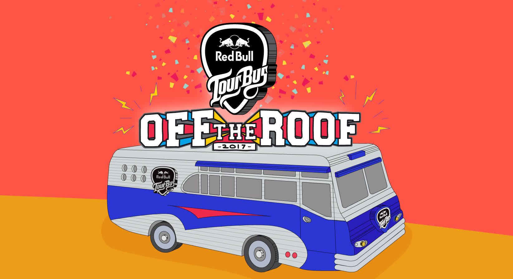 Red Bull Tour Bus #OffTheRoof Is Back!