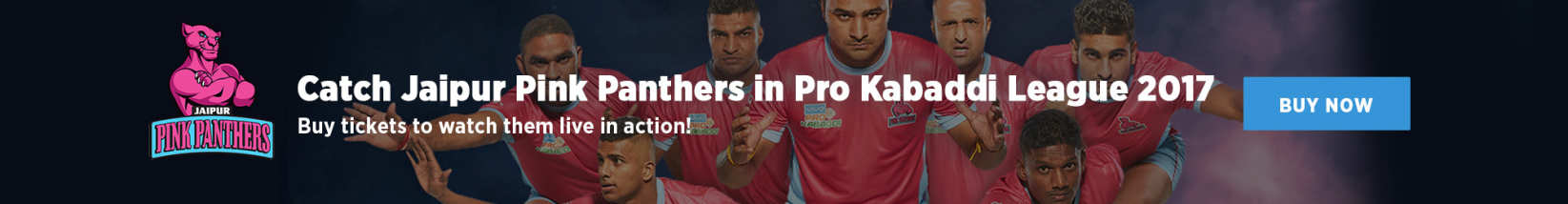 Catch the Jaipur Pink Panthers this Pro Kabaddi League!