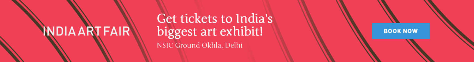The 10th edition of India Art Fair, Delhi is here! Early bird tickets now on sale, special price for students.