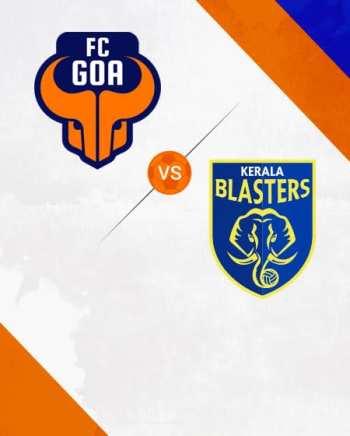 ISL: FC Goa VS Kerala Blasters FC