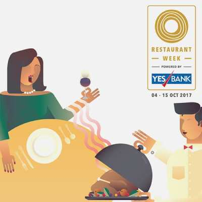 Restaurant Week powered by YES BANK: October 4th – 15th, 2017