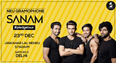 Neu Gramaphone LIVE In Concert - SANAM, Delhi
