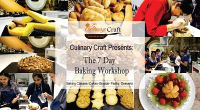 Seven Days Weekend Bakery Workshop