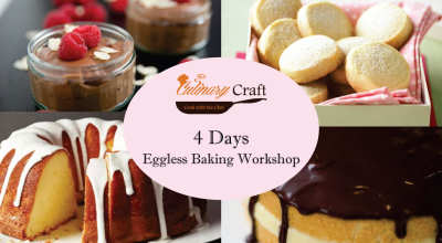 Four Day Eggless Baking Workshop