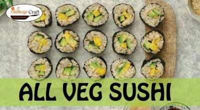 All Veg. Sushi