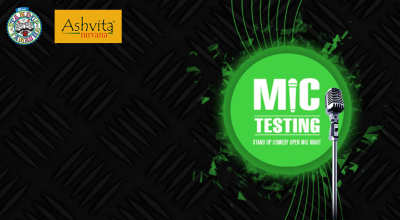 Mic Testing - Stand-Up Comedy Open Mic Night by Evam