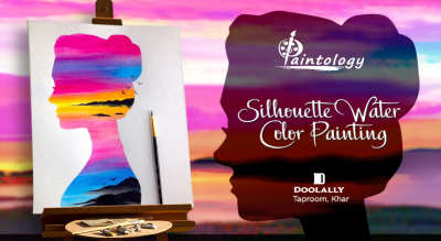 Silhouette Water Color Painting Party