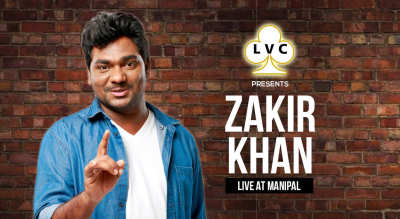LVC Presents Zakir Khan Live at Manipal