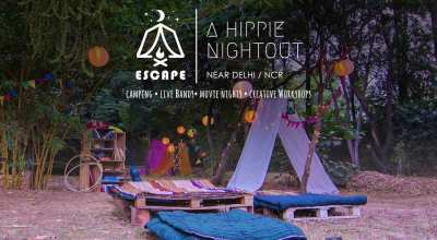 ESCAPE- A Hippie Night Out (Live band performance/ Movie Night)