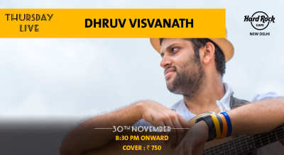 Dhruv Visvanath - Thursday Live!
