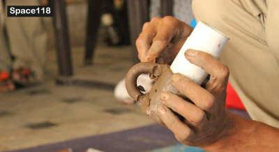 Longpi Pottery Workshop by Master Artisan Wungshungmi Shangrei