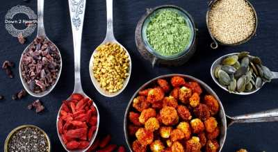 Indian Super foods Cooking class- Ayurveda meets Plant-based by Vinita Contractor