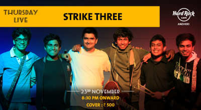 Strike Three - Thursday Live!