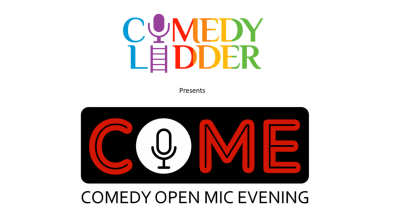 102 COME - Registrations for Comedy Open Mic Evening