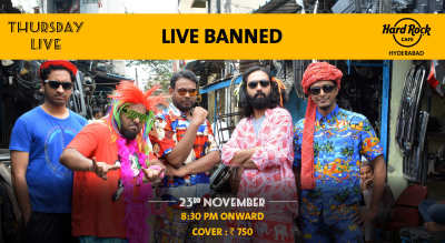 Live Banned - Thursday Live!
