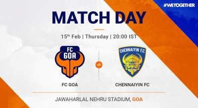 ISL: FC Goa VS Chennayin FC