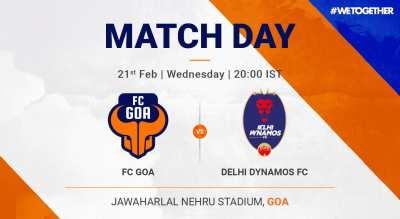 ISL: FC Goa VS Delhi Dynamos FC
