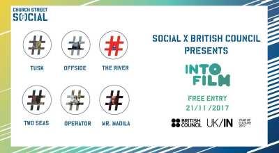 Social x British Council present: INTO FILM #Bangalore