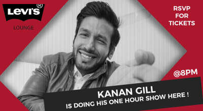 Kanan Gill is Doing His One Hour Show Here