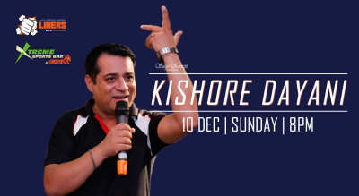 PunchLiners: Standup Comedy Show ft. Kishore Dayani in Chandigarh
