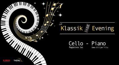 The Harkat Klassik Evening – Cello & Piano