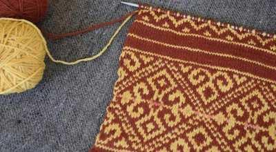 Fair Isle Knitting with Peoli
