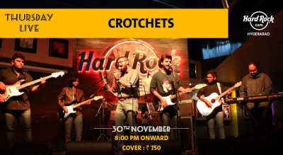 Crotchets - Thursday Live!