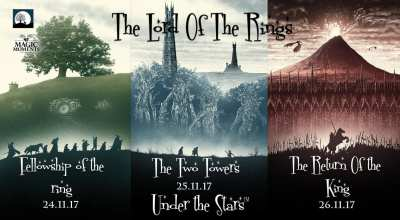 Magic Moments Under The Stars: Screening of LOTR Trilogy