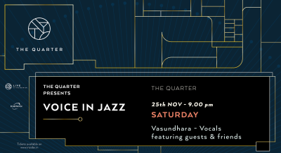 Voice in Jazz at The Quarter