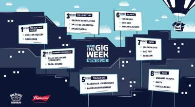 The Gig Week - Raghav Meattle Trio + Artistes Unlimited + Angad Katari