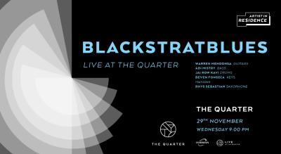 Blackstratblues at The Quarter